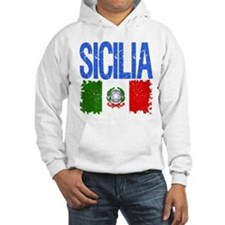 Classic Retro Sicilia Hoodie Sweatshirt