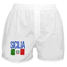 Classic Retro Sicilia Boxer Shorts