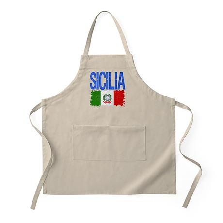 Classic Retro Sicilia BBQ Apron