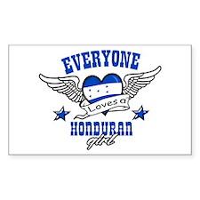 Everyone loves an Honduran girl Decal