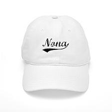 Vintage Nona (Black) Baseball Cap