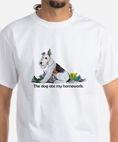 Fox Terrier Dog Homework! Shirt