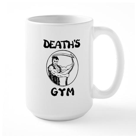 Death's Gym Large Military Coffee Mug
