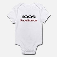 100 Percent Film Editor Infant Bodysuit