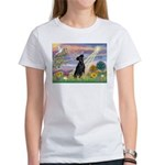 Cloud Angel Min. Pinscher Women's T-Shirt