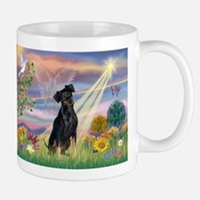 Cloud Angel Min. Pinscher Mug