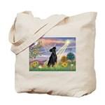Cloud Angel Min. Pinscher Tote Bag