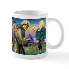 St. Francis & Min Pin Mug