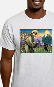 St. Francis & Min Pin T-Shirt