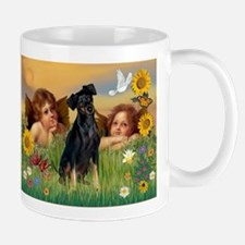 Angels & Min Pinscher Mug