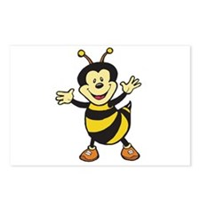 Busy Bee Postcards (Package of 8)