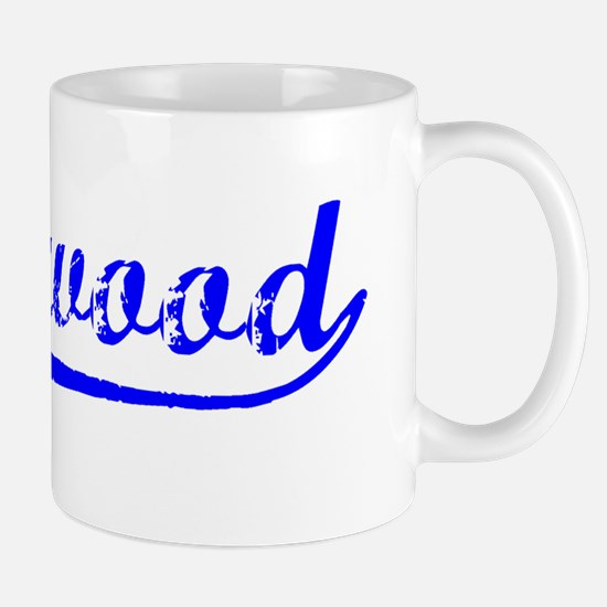 Vintage Lakewood (Blue) Mug