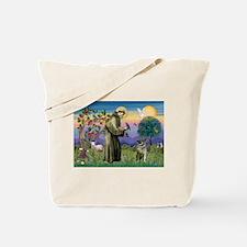 St Francis / Nor Elk Tote Bag