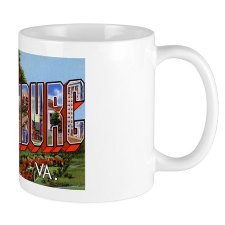 Lynchburg Virginia Greetings Mug