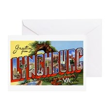 Lynchburg Virginia Greetings Greeting Card