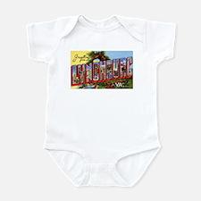 Lynchburg Virginia Greetings Infant Bodysuit