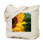Edge Of A Sunflower Tote Bag