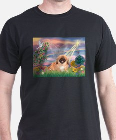 Cloud Angel Pekingese (#1) T-Shirt