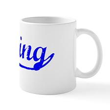 Vintage Lansing (Blue) Mug
