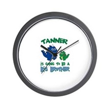 Tanner - Big Brother To Be Wall Clock