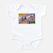 Kalamazoo Michigan Greetings Infant Bodysuit