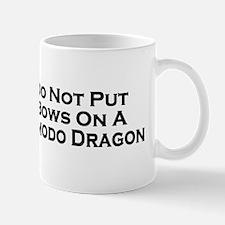 Do Not Komodo Dragon Mug