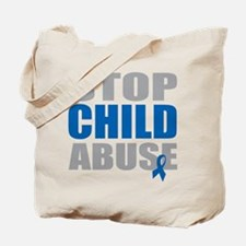 Stop Child Abuse 4 Tote Bag