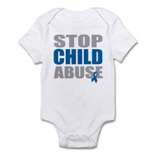 Stop Child Abuse 4 Infant Bodysuit