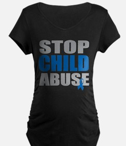 Stop Child Abuse 4 T-Shirt