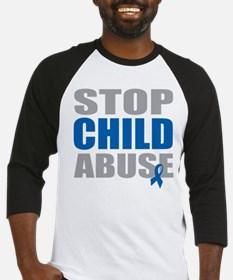 Stop Child Abuse 4 Baseball Jersey