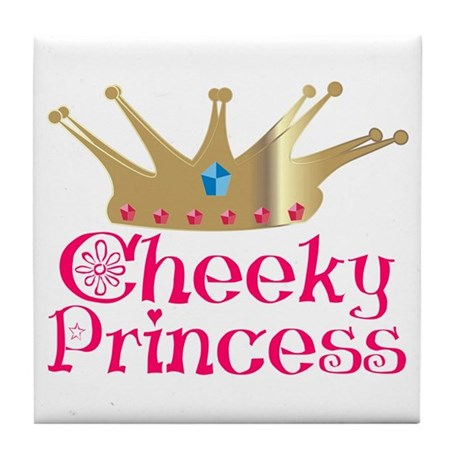 Cheeky Princess Tile Coaster