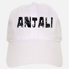 Anjali Faded (Black) Baseball Baseball Cap