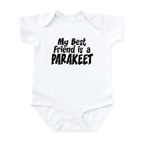 Parakeet BEST FRIEND Infant Bodysuit