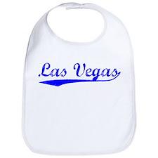 Vintage Las Vegas (Blue) Bib