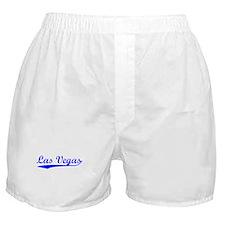 Vintage Las Vegas (Blue) Boxer Shorts