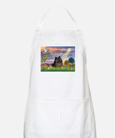 Cloud Angel Brindle Pom BBQ Apron