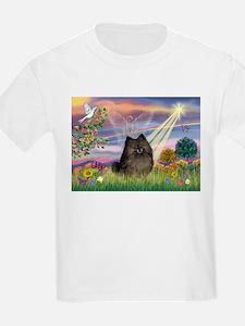 Cloud Angel Brindle Pom T-Shirt