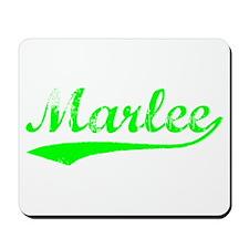 Vintage Marlee (Green) Mousepad