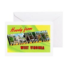 Morgantown West Virginia Greetings Greeting Card
