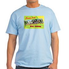 Morgantown West Virginia Greetings T-Shirt