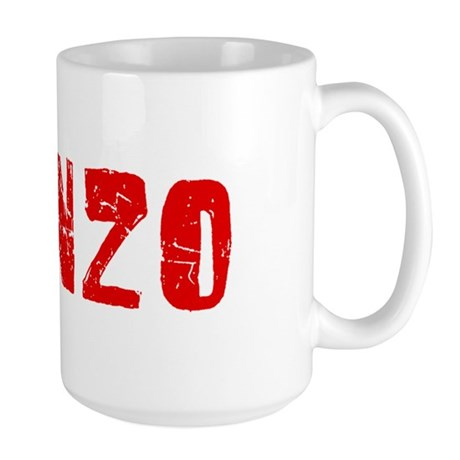 Alonzo Faded (Red) Large Mug