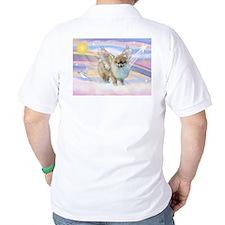 Clouds & Pomeranian Angel T-Shirt