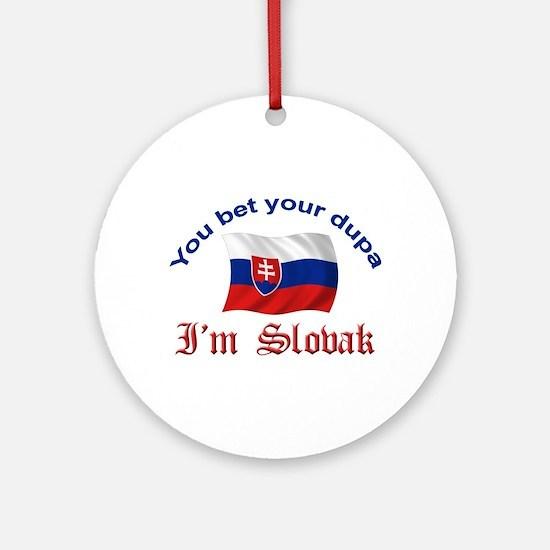 Slovak Dupa 2 Ornament (Round)