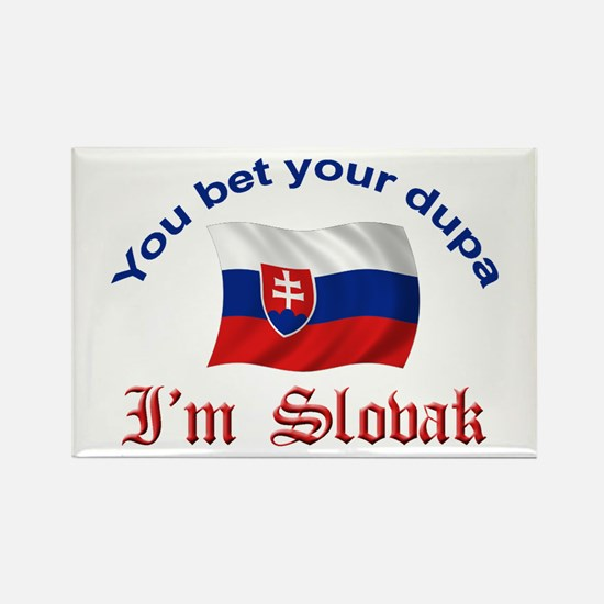 Slovak Dupa 2 Rectangle Magnet