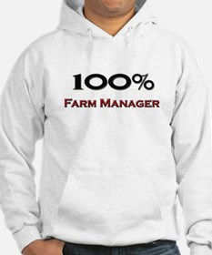 100 Percent Farm Manager Hoodie