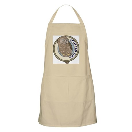 Spotted Owl BBQ Apron