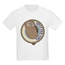 Spotted Owl Kids T-Shirt
