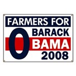 Farmers for Obama 2008 Banner