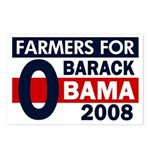 Farmers for Obama 08 (8 Postcards)