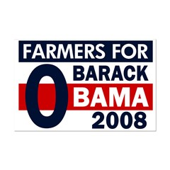 Farmers for Obama 11x17 Poster